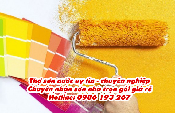 thợ sơn nước